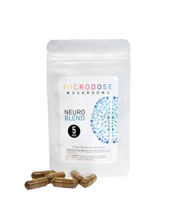 Microdosing Mushrooms Capsules Neuro Blend