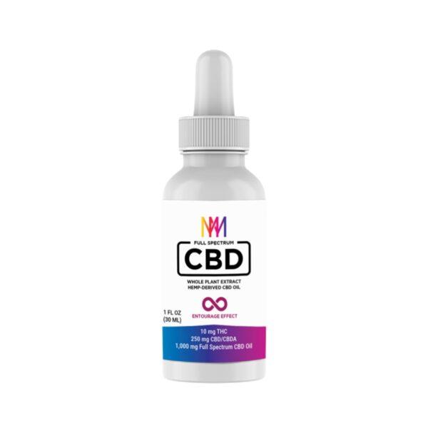 Microdose Mushrooms Full Spectrum CBD Oil