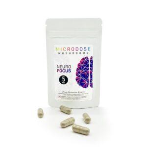 Microdose Mushrooms Neuro Focus 5 Capsules